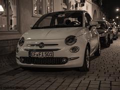 Erfurt (Freistaat Thüringen), ... FIAT 500 (bleibend) Tags: 2019 em5 erfurt freistaatthüringen landeshauptstadterfurt leicadgsummilux25mmf14 omd olympus olympusem5 olympusem5mark1 olympusomd thüringen m43 mft