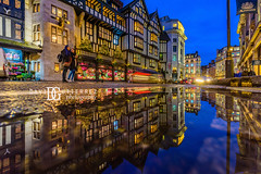Liberty's - London, UK (davidgutierrez.co.uk) Tags: london photography davidgutierrezphotography city art architecture nikond810 nikon urban travel color night blue photographer tokyo paris bilbao hongkong christmas uk person people bridge londonphotographer twilight bluehour colors colour colours colourful vibrant england unitedkingdom 伦敦 londyn ロンドン 런던 лондон londres londra europe beautiful cityscape davidgutierrez capital structure britain greatbritain ultrawideangle afsnikkor1424mmf28ged 1424mm d810 arts landmark attraction historic iconic icon touristattraction street streetphotography 倫敦 reflection puddle libertys liberty departmentstore shopping luxury designer xmas oxfordcircus westminster