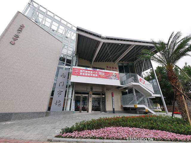 南門中繼市場,新址位於杭州南路及愛國東路交叉口,從古亭站、中正紀念堂站都有接駁車可以到,東門站走過來也很近。