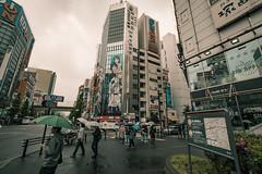 Japan - Tokyo (SergioQ79 - Osanpo Photographer -) Tags: japan tokyo akihabara rain cloud clouds sky building people umbrella rainy asia 2019 nikon street d7200
