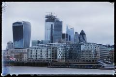 City of London (M Malinov) Tags: city capital island europe england лондон град столица англия остров център сграда небостъргач skyscraper building европа skyline centre