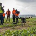 Using UAV for Geomatics & Surveying at Larkhill