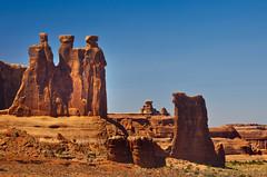 The Three Sisters, Arches National Park, Utah (klauslang99) Tags: klauslang nature naturalworld northamerica national arches park utah the three sisters rocks