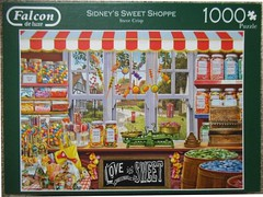 "FALCON F 11 1000 68X49CM ART 11180 Sidney's Sweet Shoppe D/L Steve Crisp (Andrew Reynolds transport view) Tags: jigsaw ""jigsaw puzzle"" picture pieces large difficult falcon hobby leisure pasttime f 11 1000 68x49cm art 11180 sidneys sweet shoppe {ar} dl steve crisp"