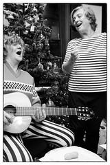 The Raincoats @ House of Voltaire, London, 20th November 2019 (fabiolug) Tags: theraincoats ginabirch anadasilva guitar guitars acousticguitar acoustic songs christmassongs xmassongs punk experimental smile smiling christmasjumper xmasjumper jumper christmas xmas christmastree xmastree houseofvoltaire studiovoltaire london mayfair music gig performance concert live livemusic leicammonochrom mmonochrom monochrom leicamonochrom leica leicam rangefinder blackandwhite blackwhite bw monochrome biancoenero 35mmsummicronasph 35mmf2summicronasph summicronm35mmf2asph summicron35mmf2asph 35mm summicron leicasummicron leica35mm