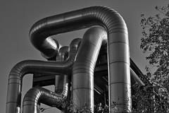 Entwined pipes (tmdittrich) Tags: pentaxart kp pentax da 55mm f14 rohre pipes datteln kraftwerk power plant bwartaward
