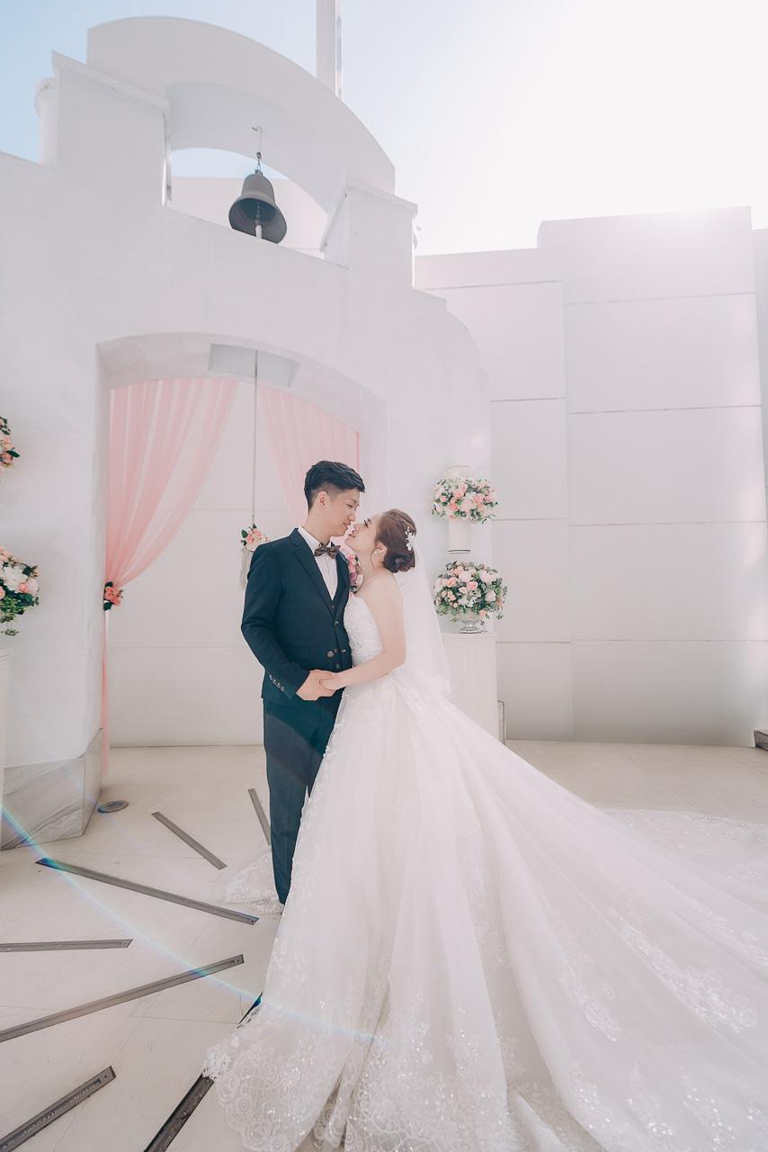 婚攝大嘴-中山基督長老教會證婚-晶宴婚禮 (2)