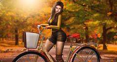 Maya (meriluu17) Tags: deaddollz amitie tetra autumn fall warmth bike bicycle people outdoor