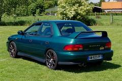Subaru Impreza GT (pierre.pruvot2) Tags: hautsdefrance nord côtedopale voituredesport subaru classiccar automobile panasonic lumixg9 meeting