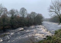 Photo of bend in the Tees