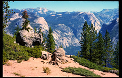High Country (greenschist) Tags: trees usa california yosemitenationalpark zeissikonzm mountains rangefinder zeissplanar50mmf2tzm kodakportra160 35mm film analog