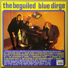 The Beguiled -  Blue Dirge [1994] (renerox) Tags: garagepunk thebeguiled 90s cryptrecords garagerock lp lpcovers lpcover lps records recordsleeve vinyl