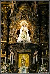 Iglesia dos Remedios (atsjebosma) Tags: iglesia church cathedral mondoneno spain spanje theenglischmadonna details flowers bloemen angels engeltjes atsjebosma november 2019