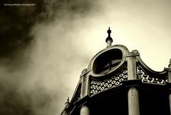SKY (Ecinquantotto (+ 1.890.000 views !!! GRAZIE) Tags: architettura architecture arte hungarian ungheria blackwhite bn bw budapest clouds chiese church d3000 nikon europa