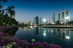 DSC_5424-2 (jainpichan) Tags: bangkok thailand wideangle nikon nikond610 d610 sigma sigma20mmf18 20mm fullframe asian travelthailand wideanglelens bangkokthailand asia twilight cityscape longexposure travelphotography cityscapephotography landscapephotography park