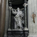 05в Латеранская базилика. Интерьер, Ап.Павел, мастерская Бернини