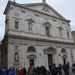 04 Джакомо делла Порта. Фасад церкви св.Людовика Французского, 1580-84. Рим