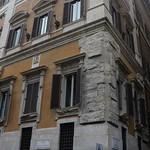 12а Л.Бернини. Палаццо Людовизи, фрагмент фасада