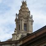 07а Франческо Борромини. Церковь Сан Иво, латерна