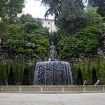 19 Тиволи. Вилла де Эсте.Овальный фонтан