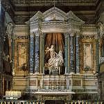 24 Бернини. Капелла Коронаро в церкви Санта Мария делла Виттория, 1645-52. Рим
