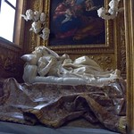 25 Бернини. Экстаз Блаженной Людовики Альбертони, 1671-1674. ц. Сан Франческо а Рипа, Рим