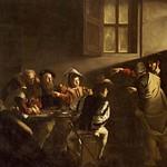 38а Караваджо. Призвание ап.Матфея 1599-1600. ц.св.Людовика Французского, Рим
