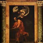 38 Караваджо. Ап.Матфей, 1599. ц. св_Людовика Французского, Рим