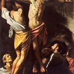 43 Караваджо. Распятие ап.Андрея, 1607. Кливлендская галерея, США