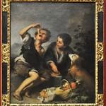 67 Эстебан Мурильо. Мальчики с собакой, 1650-е. Мюнхенская Пинакотека