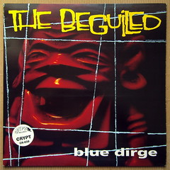 The Beguiled -  Blue Dirge [1994] (renerox) Tags: thebeguiled 90s cryptrecords garagepunk garagerock lp lpcovers lpcover lps records recordsleeve vinyl