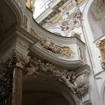 73с Кафедральный собор Фрайзинга, деталь интерьера