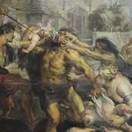 98а Рубенс. Избиение вифлеемских младенцев, фрагмент