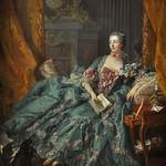 93 Франсуа Буше. Маркиза де Помпадур, 1756. Мюнхенская Пинакотека