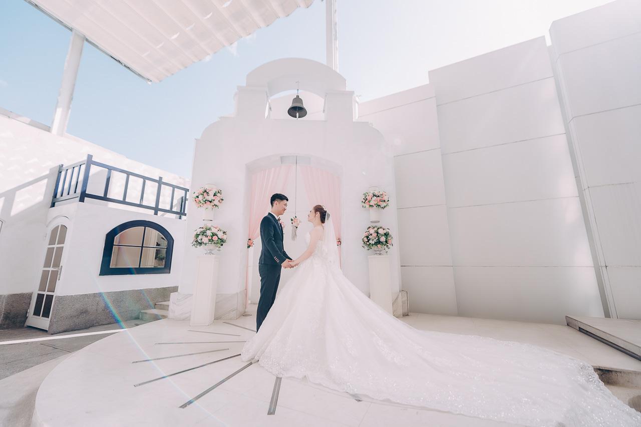 婚攝大嘴-中山基督長老教會證婚-晶宴婚禮 (1)