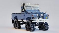 Cuthbertson Land Rover 2A (John D O'Shea) Tags: land rover 2a series cuthbertson tracks lego moc 4x4