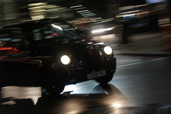 Cabbing a lift (PChamaeleoMH) Tags: cab centrallondon evening london motion panning street taxi victoria