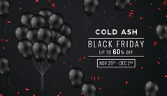 COLD ASH - BLACK FRIDAY WEEKEND SALE NOW ON! (coldashsl) Tags: cold ash black friday sale second life menswear signature gianni geralt belleza jake tmp themeshproject slink virtual fashion mesh clothes mens