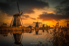 Kinderdijk 2019 (EBoss Fotografie) Tags: kinderdijk art skyreplacement skylum madewithluminar colors fujifilm colorful netherlands holland sunlight fake ebossart soe twop supershot water windmill clouds luminar4