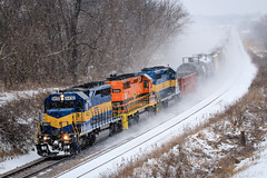 Winter's Recipe (sdl39hogger) Tags: cp canadianpacific watertownsub rcpe rapidcitypierreandeastern emd electromotivedivision sd402 canon canont6i