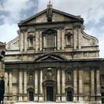 03 Джакомо делла Порта. Фасад Церкви иль Джезу. 1575, Рим
