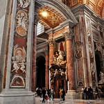 02a Л.Бернини. Оформление интерьера собора