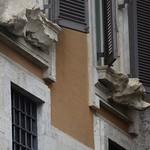 12в Л.Бернини. Палаццо Людовизи, оформление наличников окон