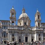 08 Франческо Борромини. Ц-вь Сан-Аньезе, 1653-1657. Рим