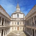 07 Франческо Борромини. Церковь Сан Иво в университете Сапиенца, 1652-53