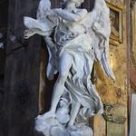 26в Лоренцо Бернини. Ангел Страстей со свитком INRI 1670-е
