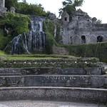 20 Тиволи. Вилла де Эсте.Водопад фонтана Рим