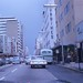 Flagler Street Downtown Miami Kodachrome Slide 1962