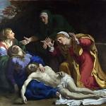 34 Аннибале Караччи. Оплакивание Христа, 1604. Лондонская Нац.галерея