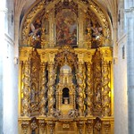 55 Хосе Бенито де Чурригера. Ретабло м-ря Сан-Эстебан (св.Себастьяна) в Саламанке, 1693-96